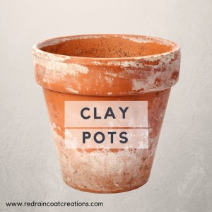 Clay Pots Poem Red Raincoat Creations