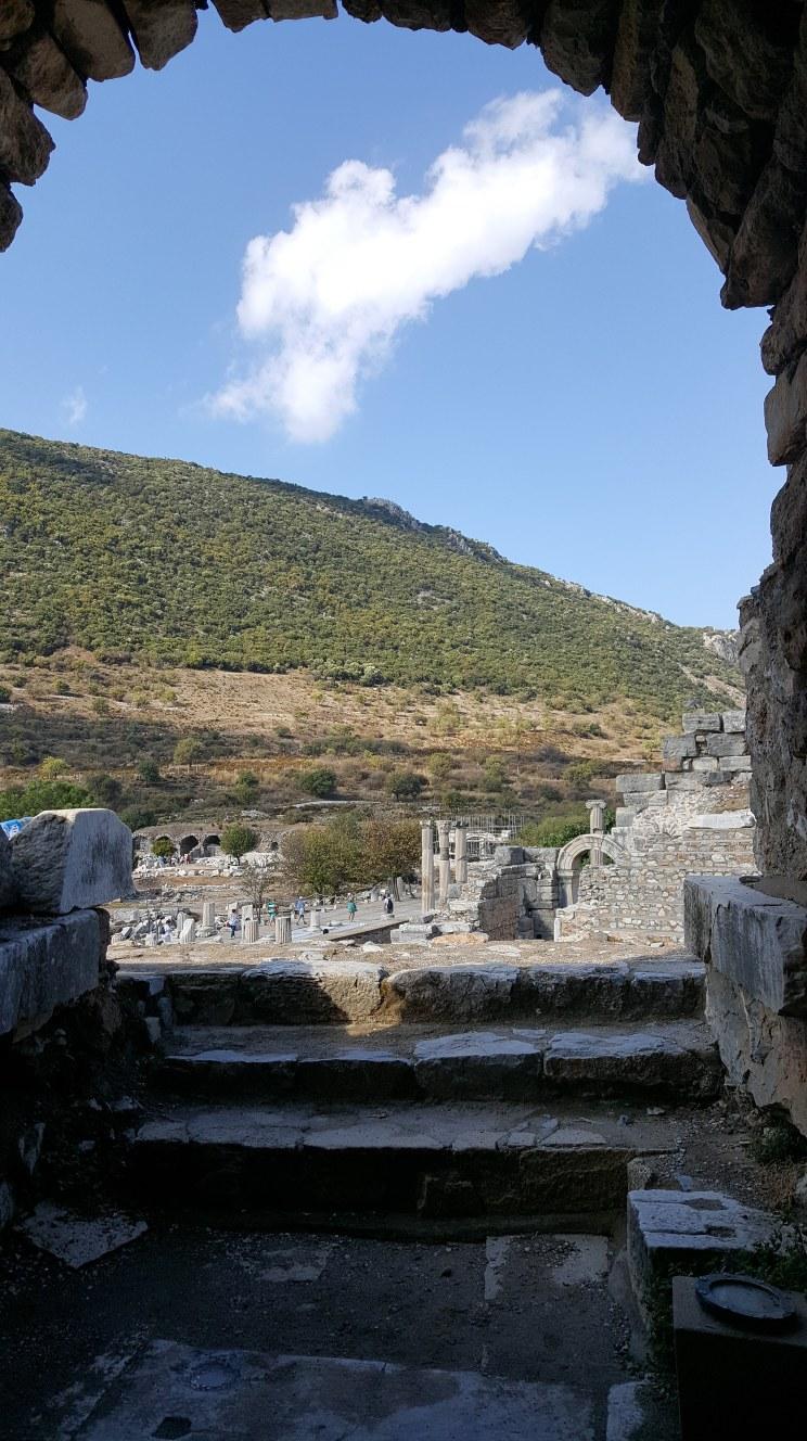 Ephesus, Turkey Threshold Doorway Red Raincoat Creations Pilgrimage